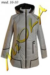Куртка удлиненная, 16-10