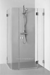 Shower cabins of Baltijos Brasta, frame and