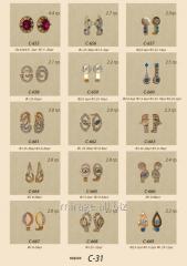 Product model - Earrings