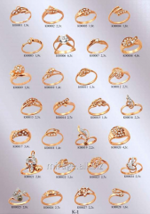 Product model - the Ring with small stones
