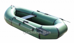 The boat PVC is odnomestany