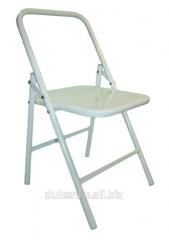 Metal folding-chair