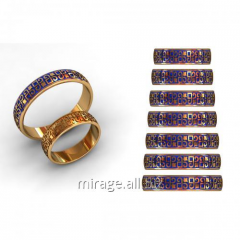Model wax - rings of wedding group