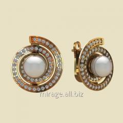 Model wax - earrings of pearl group