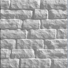 Polyfacade a chipped stone - 7 rows