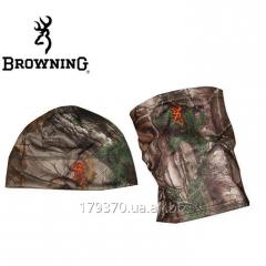 Шапка + воротник для охоты Browning Beanie/Gaiter Yukon Combo - Realtree Xtra
