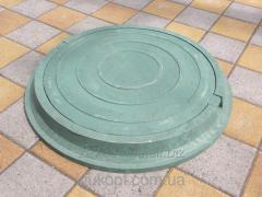 Люки канализационные полимерпесчаные легкие