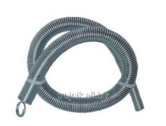 Spring for bending of a metalplastic pipe external