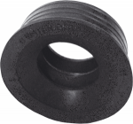 Reduction rubber for a toilet bowl 110 flat,