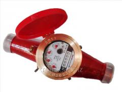 Счетчик горячей воды GrosWasser 1 дюйм 3,5 куб + штуцери, арт.18550