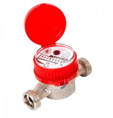 Счетчик горячей воды GrosWasser 3/4 дюйм 2,0 куб + штуцеры, арт.5910