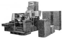 The machine horizontal copy and milling with ChPU