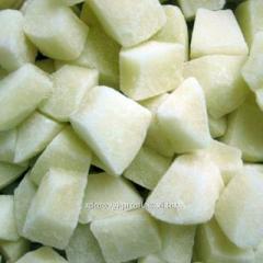 Pear cube frozen