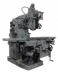Machine vertically milling BM 127