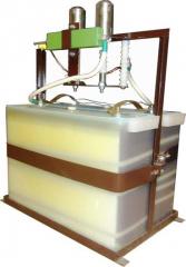 Generator of acoustic shock waves GAUV-20-8