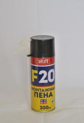 All-weather F20 polyurethane foam