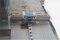 Леса электрические серия мачтовых рабочих платформ