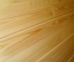 Lining from cedar