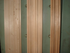 Wooden plinths