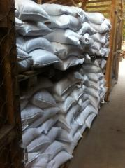 Salt technical, food, in bulk and in bags on 50