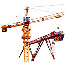 Luffing cranes in assortmen