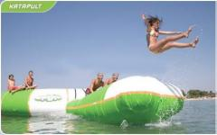 Hire of the Attraction Inflatable Aquapark