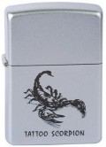 Lighter of Zippo Tattoo Scorpion