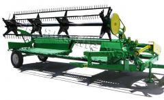 Harvester roll hook-on ZhVP 4,9 for bevelling of