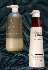 Corl hair shampoo (medical)