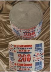 Туалетная бумага Семейный 200