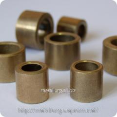 Plug (sliding bearing) bronze-and-graphite