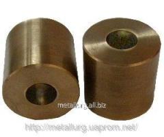 Bronze-and-graphite bush 20х50х50