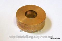 Bronze-and-graphite bush 20х50х20