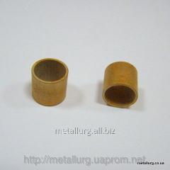 Bronze-and-graphite bush 13,8х16х15,5