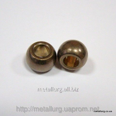 Plug spherical bronze-and-graphite 8х16х11