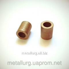 Bronze-and-graphite bush 10х16х20