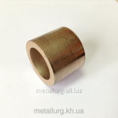 Bronze-and-graphite bush 27х38х30