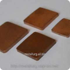 Contact part copper