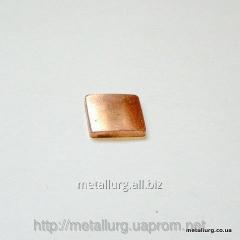 Contact sealing copper CPU 13x13x2,2 (TsP131322)