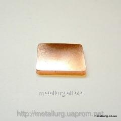 Contact sealing copper CPU 25x25 (TsP252525)