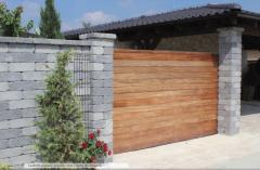 Decorative stone and brick CASTELLO ® system