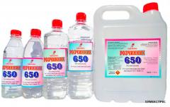 Solvent 650 (without precursors)