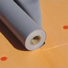 Roofing material of FlexyTex PVC MEMBRANE