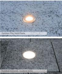 LED lamps of LED svietidlá for landscape lighting