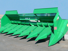 Harvester for cleaning of sunflower PZS-8