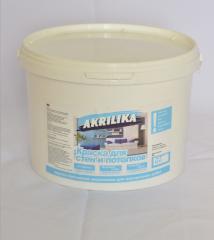 Akrilika paint for internal works of 1,4 kg