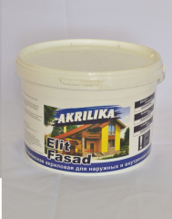 Akrilika paint facade of 7,0 kg