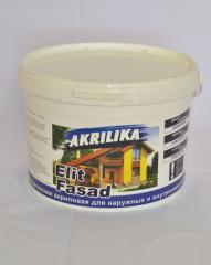 Akrilika paint facade of 14,0 kg