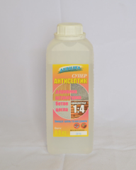 Akrilika 1:4 antiseptic agent - 0,9 kg