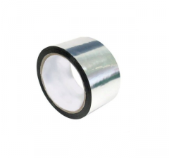 The metallized adhesive tape